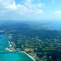 okinawa japan from the air